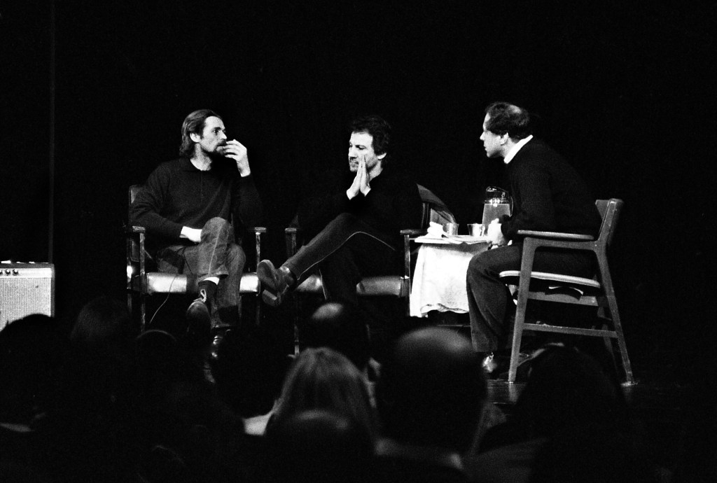 An evening with LREI Parents Willem Dafoe (P'00), Harvey Keitel (P'97), and Richard Brown (P'94)