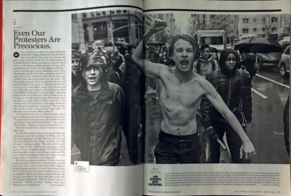 New York Magazine Features LREI Protesters