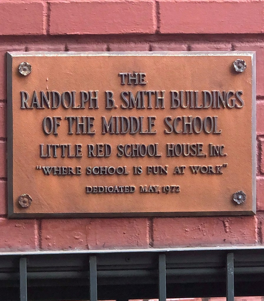 Middle School Opens, Is Dedicated to Randolph Smith